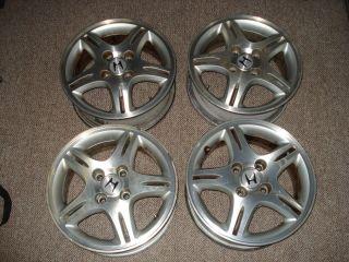 14 inch 4 Lug Honda Rims Wheels Set of 4 Split 5 Spoke Civic Integra