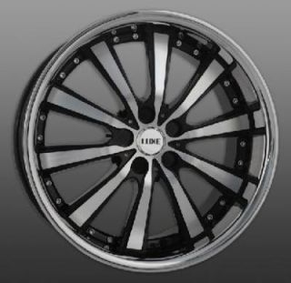 19 Luxe LX10 Wheels Staggered Rims BMW Lexus Mercedes