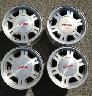 GMC OEM Factory Rims Yukon XL Sierra Safari wheels 16x7 16 Part# 5077
