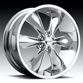 22 x9 5 FOOSE Legend 6 F137 Chrome 6 Lug Wheels Rims