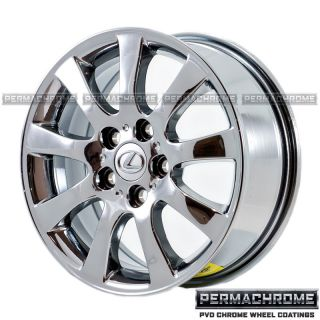 Lexus ES 16 PVD Chrome Wheels 74162 PVD Outright