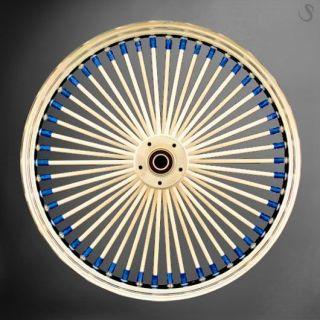 Custom 23 Fat Spoke Wheel Set for Harley