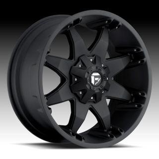 17 Wheels Rims Fuel Off Road Octane Matte Black Pathfinder Xterra