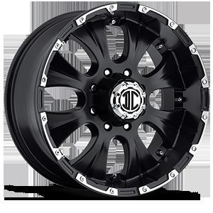 17 inch 8x6 5 Black Extreme NX 2 Wheels Rims 8 Lug Dodge RAM Chevy