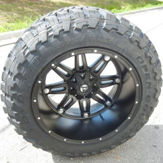 22x14 FUEL HOSTAGE WHEELS RIMS 40X15 50 TOYO OPENCOUNTRY MT TIRES FORD