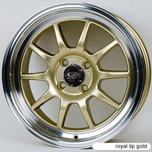 15 ROTA GT3 GOLD RIMS WHEELS 15x7 +40 4x100 CIVIC INTEGRA MIATA XB