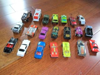 21 Mattel Hot Wheels Cars Trucks for Sale