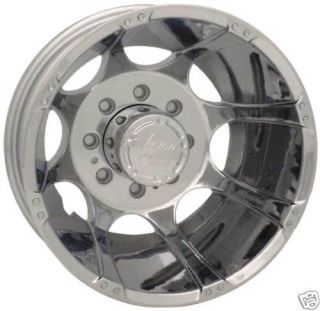 Vision 16x6 Wheels Rims Dually Ford Chevy Dodge Chrome