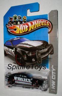 Hot Wheels 2013 Secret Treasure Hunt 10 Camaro SS Police Cop Car No