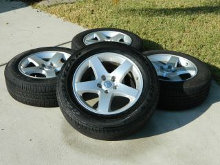 17 Dodge Charger Challenger Wheels and Tires 215 65 17 726B
