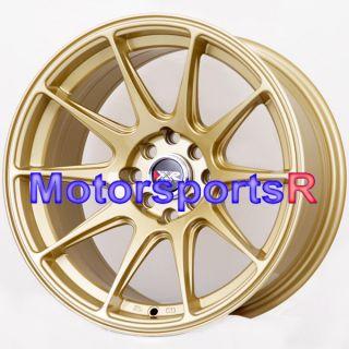 16 16x8 25 XXR 527 Gold Concave Rims Wheels Stance 4x100 82 83 BMW E21
