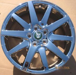 Single New 17 Factory Jaguar s Type Chrome Wheel Rim 59705