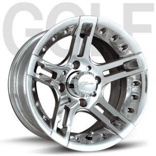 Fairway Alloys Edge Wheels 12 23x10 5 12 Golf Tires 4 EZGO Club Car