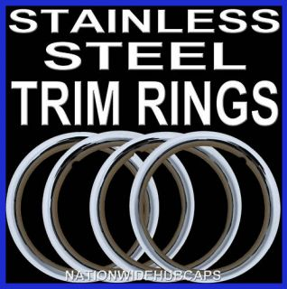 Trim Rings Beauty Bands Glamour Wheel Steel Wheels Lug Rims