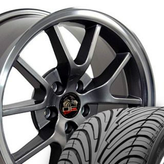 18 Rim Fits Mustang® GT FR500 Wheels Anthracite 18x9