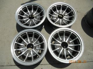 Mag Wheels Datsun 240Z 260z 280z Ford Chevy 4 Lug Turbine Rims