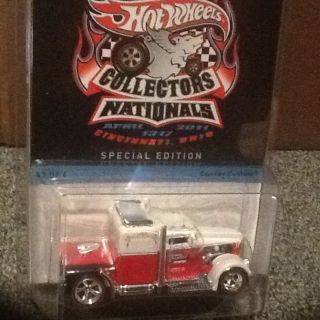 Hot Wheels 11th Annual Collectors Nationals Convoy Custom Semi Special