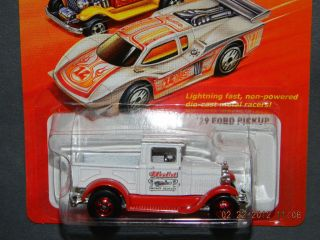 2012 Hot Wheels Hot Ones 29 Ford Pickup Hotwheels HW White Red