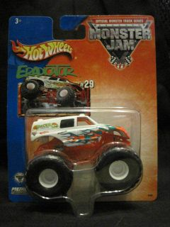 Hot Wheels Monster Jam Truck Eradicator 29 Van not Truck Body