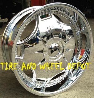 22 inch Dub Ganja Rims Wheels Tires Yukon Escalade Sierra Tahoe