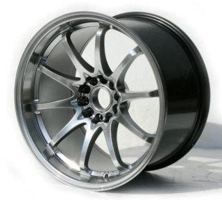 Varrstoen ES331 18x9 5 5x114 3 30 Hyp Black Wheel Fit Subaru STI Mazda