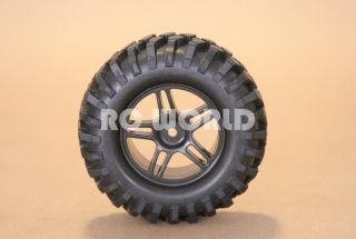 10 Truck Tamiya CC 01 Rims Wheels Tires Highlift Truck Wheels