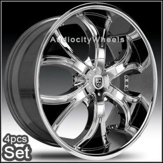 24inch Rims Wheels Chevy Ford RAM Lexani Escalade