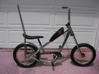 James West Coast Choppers Bicycle with Extra Rims Very Nice