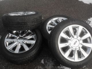 17 Lincoln MKZ Chrome Clad Wheels Tires Rims