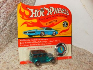 OLD HOT WHEELS RED LINE 31 FORD WOODY DIECAST CAR MINT BLISTER PACK