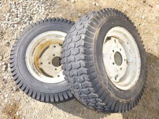 Wheel Horse C 105 Tractor Carlisle 23x8 50 12 Rear Tires Rims