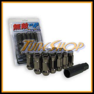 Muteki SR48 Wheels Lug Nuts 12x1 25 1 25 Acorn Rim Extended Open End