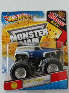 Hot Wheels Monster Jam Grave Digger The Legend 1st Edition 2012