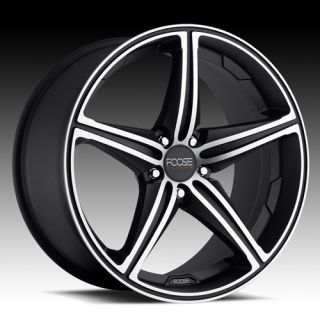 18 Staggered Wheels Rims Black FOOSE Speed Mercedes C