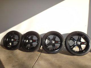 PTR20 52110 TRD 19 inch rims 245 35 19 tires TPMS Lug nuts center caps