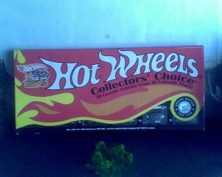 FRIDAY PRICE SLASHED    LIMITED EDITION HOT WHEELS 30TH ANIV BOX SET