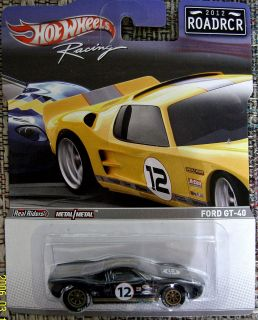 Hot Wheels Road Racers 2012 Ford GT 40