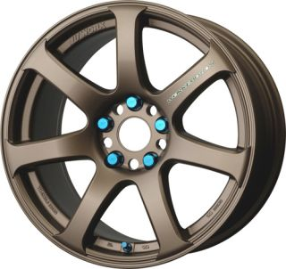 17 Work XT 7 Bronze Rims Wheels 17x9 38 5x114 3