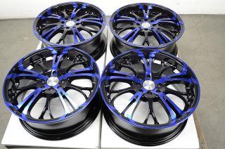 Blue Effect Wheels Tiburon Sonata Golf Yaris Protege 4 Lug Rims