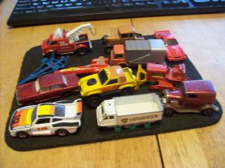 Collection of Vtg Matchbox and Hot Wheels