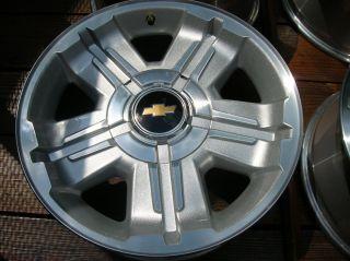 2012 Factory Chevy Silverado 1500 18Wheels with Centers