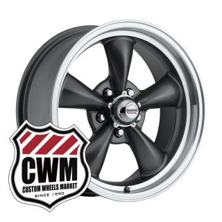 17x7 17x9 Charcoal Gray Wheels Rims 5x4 50 pattern for Dodge Coronet