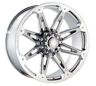 24 Dcenti 901 Chrome Wheels Rims 325 45 Tire Hummer H2