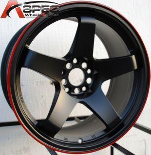 17x9 Rota P45R Rims Mitsubishi EVO Nissan 350Z Wheels