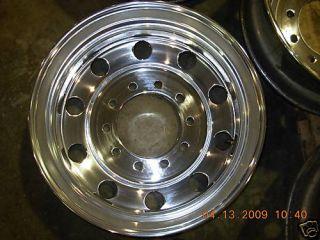 25 x 22 5 Polished Aluminum Wheels