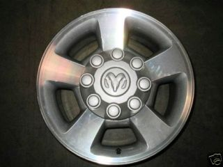 17x8 Take Off Dodge RAM Wheels Set of 4 with Caps