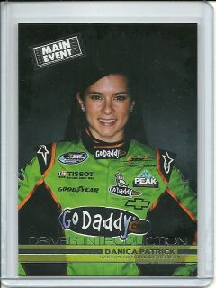 2011 Wheels Main Event Danica Patrick #42 Driver Introduction Go Daddy