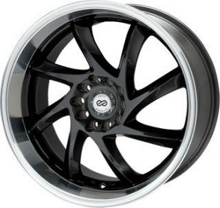 17 Enkei WDM Rims Wheels Gunmetal 17x7 4x100 4x114 3 42