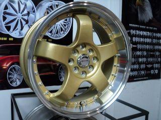 Accord 17 Rims Wheels Set 17x6 5 4 X100 4x114 3 38 Offset