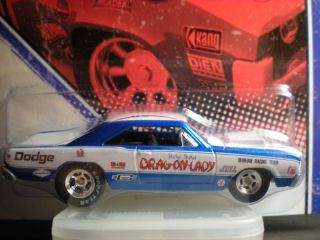Hot Wheels Vintage Racing 7 Drag on Lady Dodge Dart